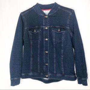 D & Co denim Clifton jacket size M